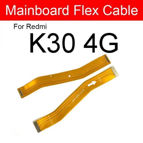 خرید ریبون برد اصلی گوشی شیائومی از علی اکسپرس LCD Motherboard Flex Cable For Xiaomi Redmi K30 30S 30i K30 Pro 4G 5G K30
