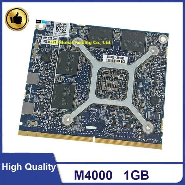 M4000 1G grafik VGA ekran kartı GPU 216-0934044 109-C42251-00A Dell Precision M4600 M4700 M4800 CN-03YF07 3YF07% 100% Test