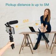 لوازم جانبی فیلمبرداری موبایل MAONO Smartphone Video Microphone Kit Super-Cardioid Shotgun Interview