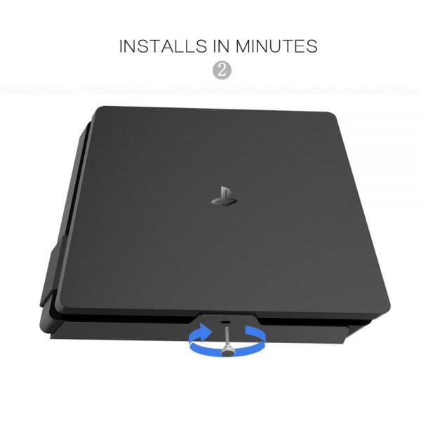 Monzlteck Wall Mount For Ps4 Slim