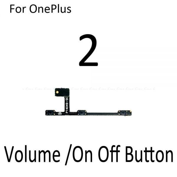 خرید ریبون کلید پاور و صدا گوشی وان پلاس Mute Switch Power Key Ribbon Repair Part For OnePlus X 1 2 3 3T 5 5T 6 6T