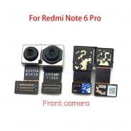 خرید دوربین گوشی نوت 6 پرو New Back Rear Camera Module Flex Cable Front Facing Camera For Xiaomi Redmi Note 6 Pro