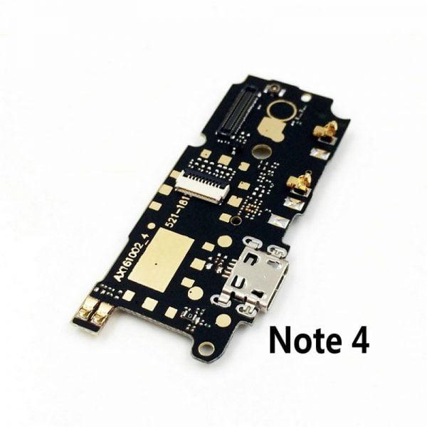 خرید برد شارژ گوشی شیائومی ردمی نوت 4 New Microphone Module USB Charging Port Board Flex Cable Connector Parts For Xiaomi Redmi Note 4 4X 4XPro