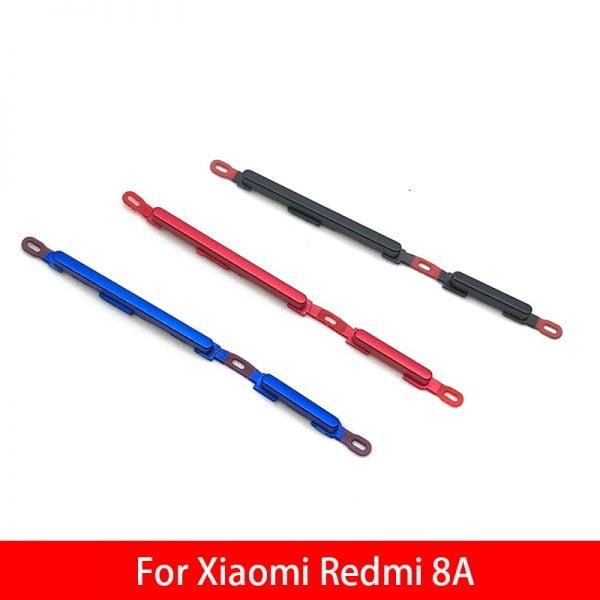 خرید کلید صدا و پاور گوشی شیائومی ردمی 8 از علی اکسپرس New Power Button Volume Side Button For Xiaomi Redmi 8A