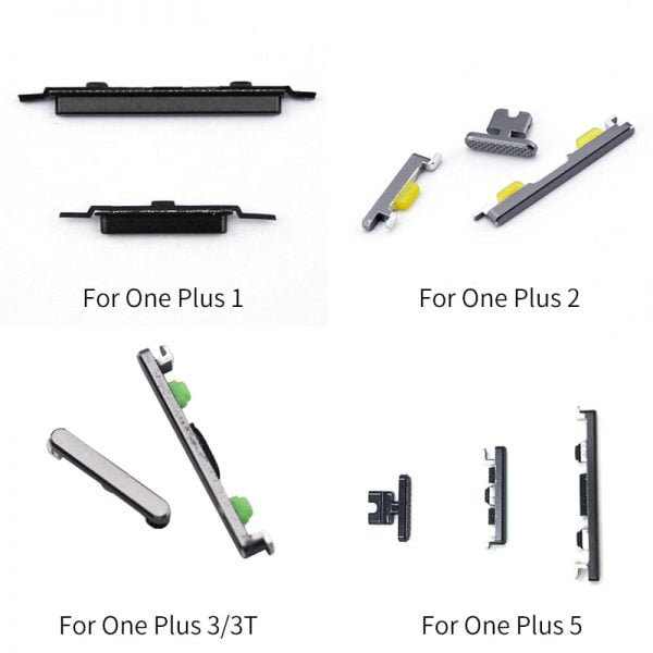 خرید کلید های گوشی وان پلاس از علی اکپرس On/Off Switch Power Volume adjustment Button For Oneplus 1 / 2 / 3 / 3T / 5 Flex Cable Ribbon Repair Parts Replacement