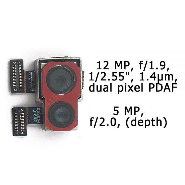 خرید لنز دوربین گوشی پوکوفون از علی اکسپرس Original Front and Rear Back Camera For Xiaomi Mi Pocophone Poco F1 Main Facing Camera