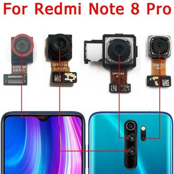 خرید لنز دوربین گوشی نوت 8 پرو از علی اکسپرس Original Front and Rear Back Camera For Xiaomi Redmi Note 8 Pro
