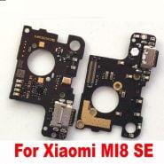 خرید میکروفون و برد شارژ شیائومی می 8 اس ای Original Full IC Mi 8 MI8 USB Quick Charging Port Board Flex Cable Connector For Xiaomi MI8 SE