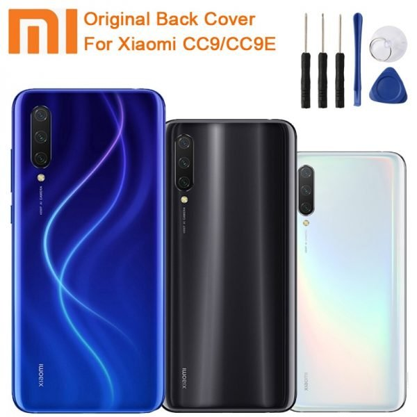 خرید درب باتری گوشی می 9 لایت Original Glass Battery Rear Ponel For Xiaomi MI CC9 MI 9 Lite MI CC9E MI A3 Housing