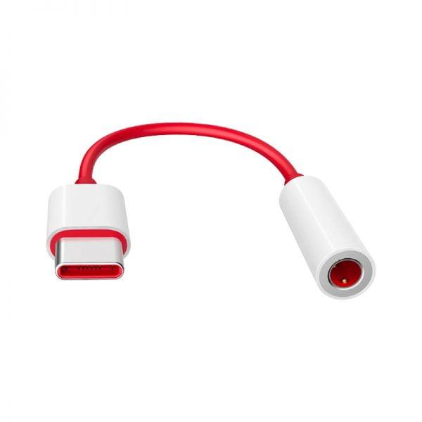 خرید تبدیل تایپ سی برای وان پلاس Original Oneplus Earphone Jack Adapter Type-C To 3.5mm Headphone Converter Cable For OnePlus 6T 7 7Pro 7T 7T Pro 8 8Pro