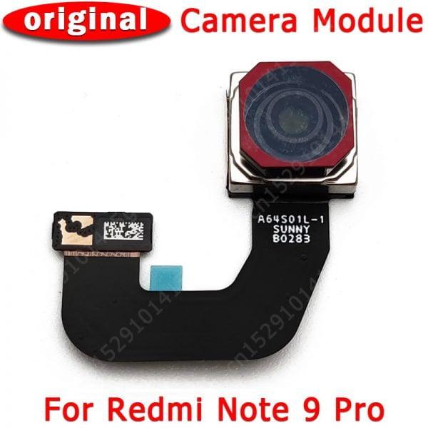 خرید دوربین اصلی گوشی ردمی نوت 9 پرو Original Rear Back Camera For Xiaomi Redmi Note 9 Pro Note9 9Pro Main Facing BIg Camera