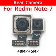 خرید لنز دوربین اصلی شیائومی ردمی نوت 7 Original Rear Camera For Xiaomi Redmi Note 7 Note7 Back Main Big Camera