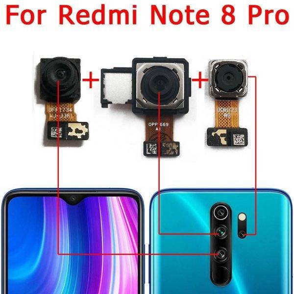 خرید دوربین اصلی گوشی ردمی نوت 8 از علی اکسپرس Original Rear Camera For Xiaomi Redmi Note 8 Pro Note8 8Pro Back Main Big Camera