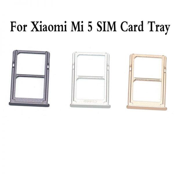 خرید اسلات سیم کارت گوشی شیائومی می 5 SIM Card Tray Holder Micro SD Card Slot Adapter