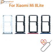 خرید اسلات سیم کارت می 8 لایت SIM Card Tray for Mi 8 Lite SIM Card Slot Mi8Lite SIM Card Holder Card Adapter for Mi 8 Lite