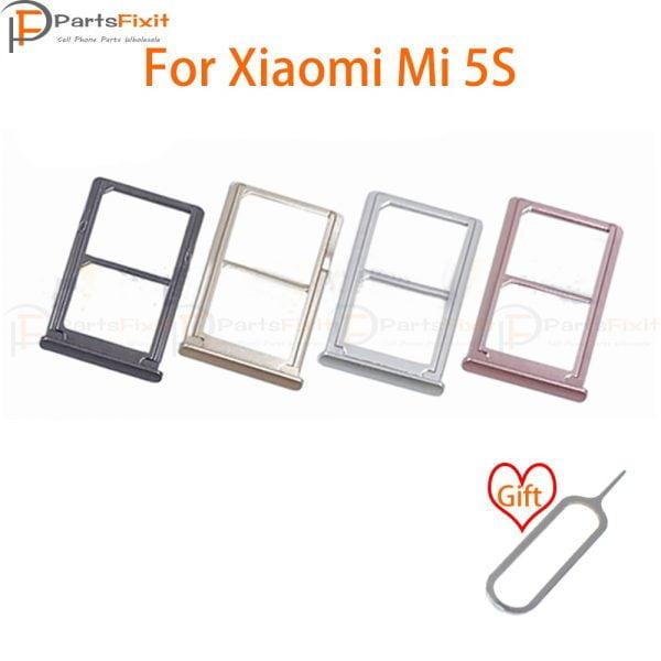 خرید اسلات سیم کارت گوشی شیائومی می 5 اس SIM Card Tray for Mi5S SIM Card Slot SIM Card Holder Card Slot Adapter for Mi 5S