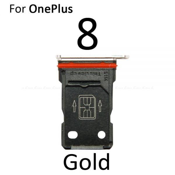 خرید اسلات سیم کارت گوشی های وان پلاس از علی اکسپرس Sim Card Tray For Oneplus 6 6T 7 8 Pro