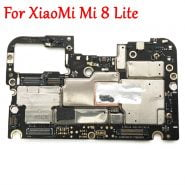 خرید برد اصلی گوشی شیائومی می 8 لایت Tested Full Work Original Unlock Motherboard For XiaoMi Mi 8 lite mi 8