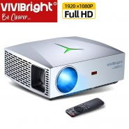 خرید پروژکتور سه بعدی از علی اکسپرس VIVIBright Real Full HD Native 1080P Resolution Projector F40|3D Home Cinema