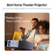 خرید پروژکتور سه بعدی از علی اکسپرس VIVIBright Real Full HD Native 1080P Resolution Projector F40 3D Home Cinema