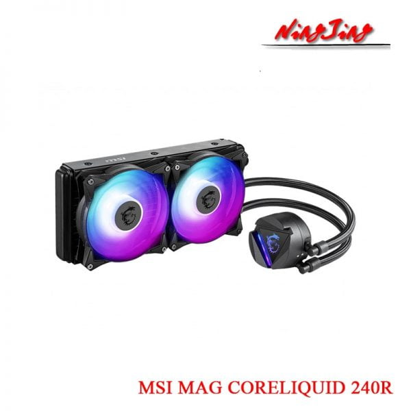 Water cooling MSI MAG CORELIQUID 240R 360R RGB Cooler Fan Support AMD Intel CPU Motherboard New