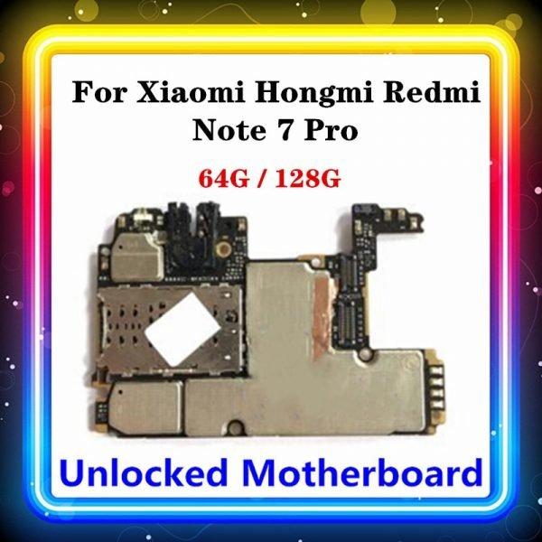 خرید مادربرد گوشی شیائومی ردمی نوت 7 for Xiaomi Hongmi Redmi Note 7 Pro Motherboard