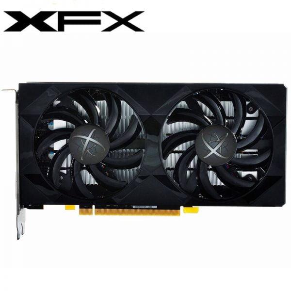 خرید کارت گرافیک 100% XFX Video Card RX 560 4GB 128Bit GDDR5 Graphics Cards for AMD RX 500 rx 560d RX560 4G DisplayPort HDMI DVI 7000MHz Used