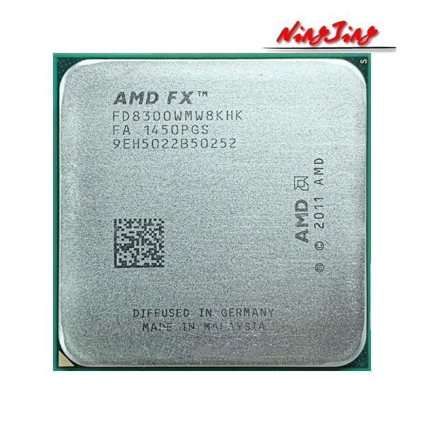 خرید سی پی یو از علی اکسپرس AMD FX-8300 FX 8300 FX8300 3.3 GHz Eight-Core 8M Processor Socket AM3 CPU 95W Bulk Package FX-8300