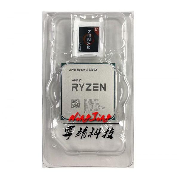 خرید سی پی یو AMD Ryzen 5 3500X R5 3500X 3.6 GHz Six-Core Six-Thread CPU Processor 7NM 65W L3=32M 100-000000158 Socket AM4 New but without fan