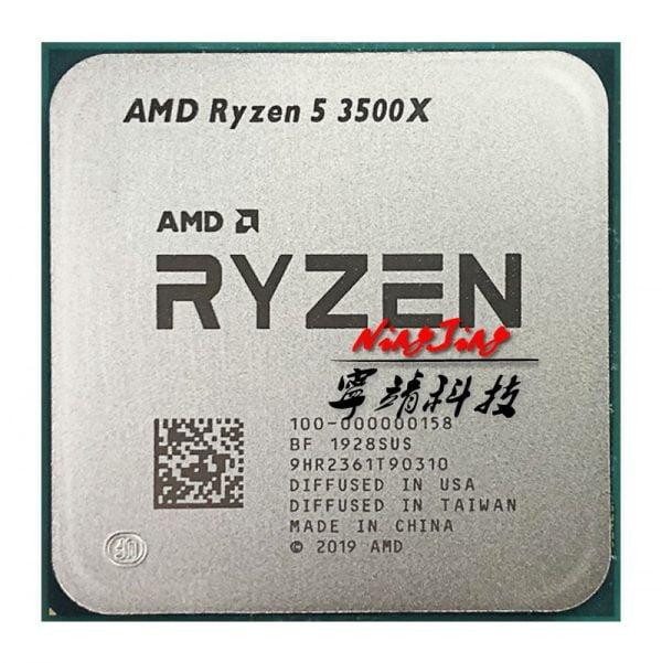 خرید پردازنده از علی اکسپرس AMD Ryzen 5 3500X R5 3500X 3.6 GHz Six-Core Six-Thread CPU Processor 7NM 65W L3=32M 100-000000158 Socket AM4