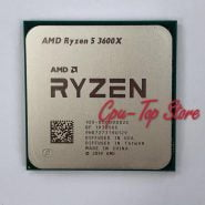خرید سی پی یو از علی اکسپرس AMD Ryzen 5 3600X R5 3600X 3.8 GHz Six-Core Twelve-Thread CPU Processor 7NM 95W L3=32M 100-000000022 Socket AM4 NO Cooler