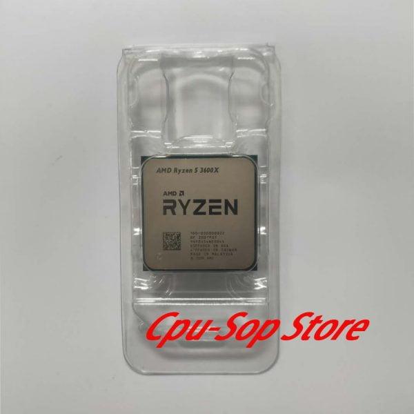 خرید سی پی یو از علی اکسپرس AMD Ryzen 5 3600X R5 3600X 3.8 GHz Six-Core Twelve-Thread CPU Processor 7NM 95W L3=32M 100-000000022 Socket AM4 NO Cooler