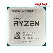 خرید سی پی یو AMD Ryzen 5 5600X R5 5600X 3.7 GHz 6-Core 12-Thread CPU Processor 7NM 65W L3=32M 100-000000065 Socket AM4 New but without cooler