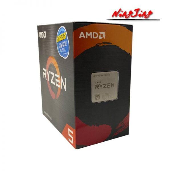 خرید سی پی یو از علی اکسپرس AMD Ryzen 5 5600X R5 5600X 3.7 GHz Six-Core Twelve-Thread CPU Processor 7NM 65W L3=32M 100-000000065 Socket AM4 New and with fan