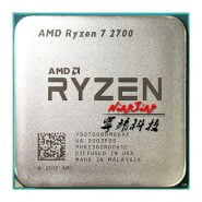 خرید سی پی یو ارزان AMD Ryzen 7 2700 R7 2700 3.2 GHz Eight-Core Sixteen-Thread CPU Processor L3=16M 65W YD2700BBM88AF Socket AM4 New and without fan