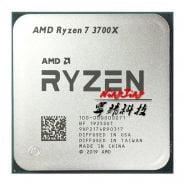 خرید سی پی یو AMD Ryzen 7 3700X R7 3700X 3.6 GHz Eight-Core Sixteen-Thread CPU Processor 7NM L3=32M 100-000000071 Socket AM4 new but no fan