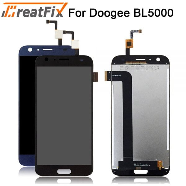 خرید تاچ و ال سی دی گوشی دوجی For Doogee BL5000 BL7000 LCD Display and Touch Screen Screen Digitizer Assembly Replacement For doogee lcd bl12000 BL12000 Pro