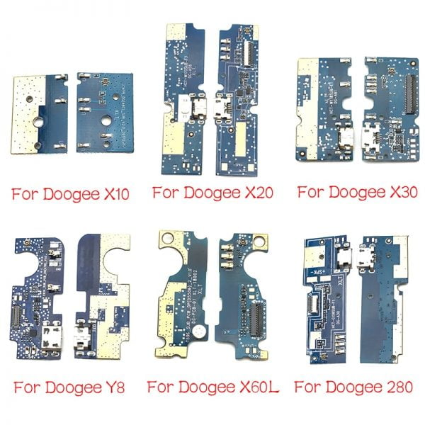 خرید برد گوشی دوجی For Doogee DG280 F5 S60 X10 X20 X30 X60L Y8 F7 Pro Mix 2 USB Power Charging Connector Plug Port Dock Flex Cable