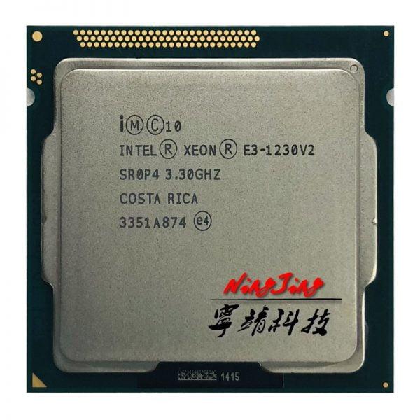 خرید سی پی یو از علی اکسپرس Intel Xeon E3-1230 v2 E3 1230v2 E3 1230 v2 3.3 GHz Quad-Core CPU Processor 8M 69W LGA 1155