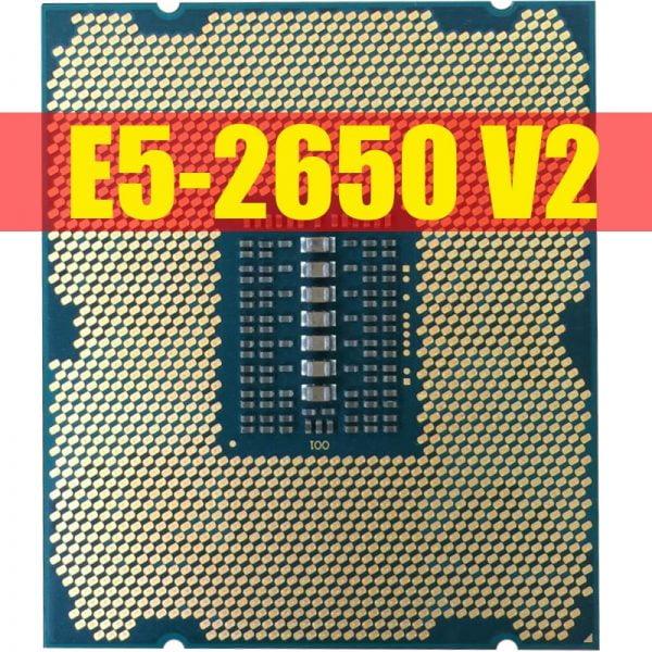 خرید سی پی یو از علی اکسپرس Intel Xeon Processor E5-2650 V2 E5 2650 V2 CPU 2.6 LGA 2011 SR1A8 Octa Core Desktop processor e5 2650V2