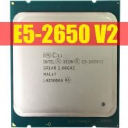 خرید سی پی یو از علی اکسپرس Intel Xeon Processor E5-2650 V2 E5 2650 V2 CPU 2.6 LGA 2011 SR1A8 Octa Core Desktop processor e5 2650V2