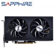 خرید کارت گرافیک از علی اکسپرس Original SAPPHIRE RX 460 4GB Video Screen Cards AMD Radeon RX 460 4GB Nitro Graphics Cards GPU Computer Map HDMI Not Mining