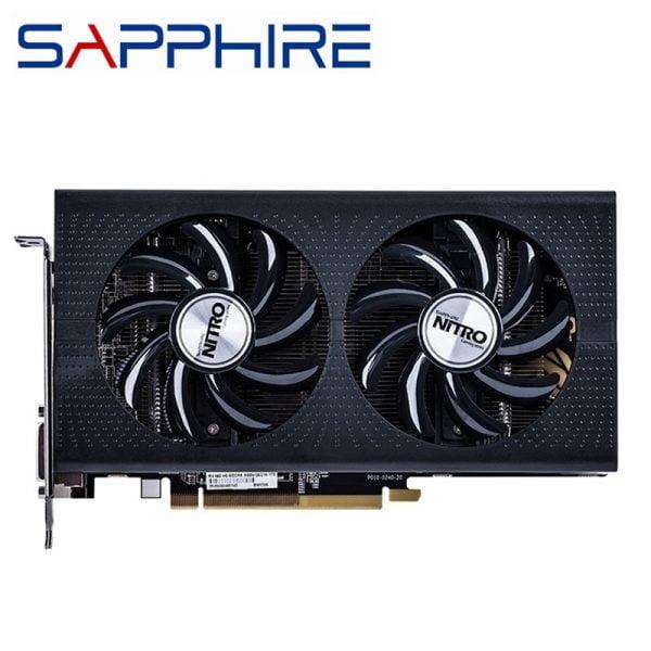 خرید کارت گرافیک از علی اکسپرس Original SAPPHIRE RX 460 4GB Video Screen Cards AMD Radeon RX 460 4GB Nitro Graphics Cards GPU Computer Map HDMI Not Mining