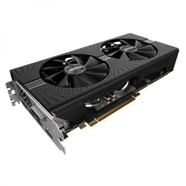 خرید کارت گرافیک از علی اکسپرس SAPPHIRE Radeon RX 580 8GB Graphics Cards GPU AMD RX580 8GB Video Graphics Cards Nitro Computer Game Map HDMI Not Mining
