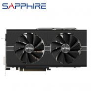 خرید کارت گرافیک از علی اکسپرس SAPPHIRE Radeon RX 580 8GB Graphics Cards GPU AMD RX580 8GB Video Graphics Cards Nitro Computer Game Map HDMI Not Mining