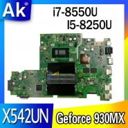 خرید مادربرد لپ تاپ ایسوس laptop Motherboard For ASUS X542U X542UR X542UQ X542UN X542URR Mainboard I5-8250U / i7-8550U (V2G) exchange!!!