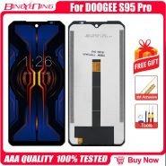 تاچ و ال سی دی گوشی دوجی اس 95 پرو 100% Original 6.3 inch LCD&Touch Screen Digitizer with frame Display module Repair Replacement Part For DOOGEE S95 Pro Cellphone