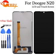 خرید تاچ و ال سی دی دوجی ان 20 6.3″ For Doogee N20 LCD Display Touch Screen Digitizer Assembly Replacement For Doogee N20 Pro LCD Phone Repair Parts Tools
