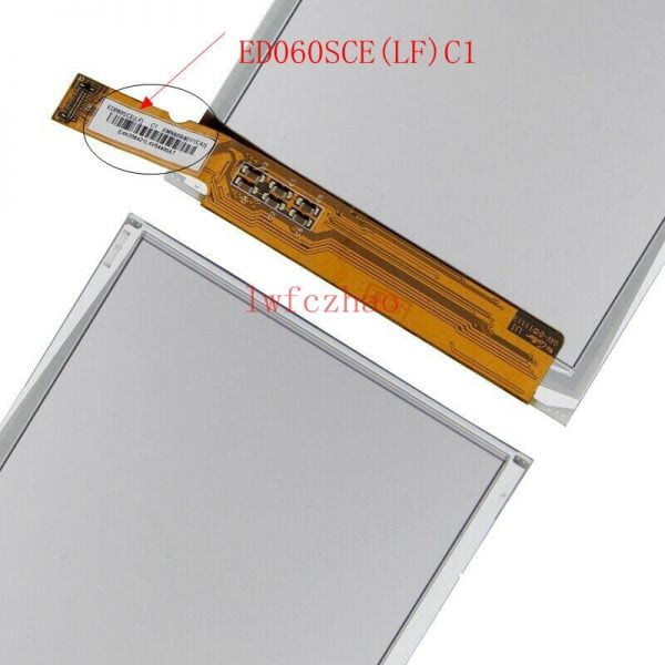 ال سی دی 6inch ED060SCE(LF) C1 LCD Display For Sony PRS-T1 / PRS-T2 E-ink LCD Display Screen Replacement
