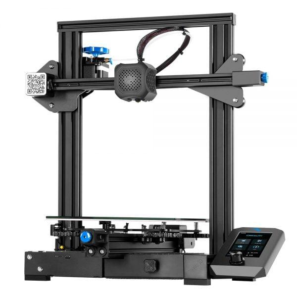 خرید پرینتر سه بعدی از علی اکسپرس Creality 3D Ender-3 V2 Moederbord Met Stille TMC2208 Stepper Drivers Nieuwe Ui & 4.3 Inch Kleuren Lcd Carborundum Glas Bed 3D Printer